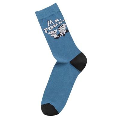 Me-We Ανδρική Βαμβακερή Κάλτσα με Σχέδιο Mr Poker