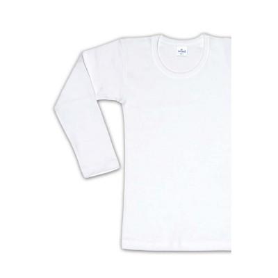 Helios - Φανέλα με μακρύ μανίκι Unisex - Λευκό
