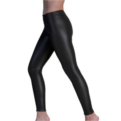 Wrap Γυναικείο Κολάν Legging Δερματίνη