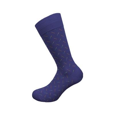 Walk Fun Socks Αντρική Μερσεριζέ Βαμβακερή Κάλτσα με Σχέδιο