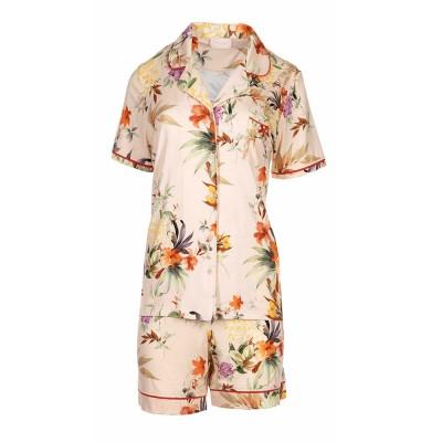 Pink Label Γυναικεία Καλοκαιρινή Πυτζάμα - Floral