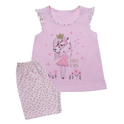 Minerva Πυζάμα για Κορίτσι Βρεφική - Princess Dreams (1-4 ετών)