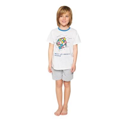 MUYDEMI Πυζάμα Εφηβική Nino Rubik (12-16 ετών)