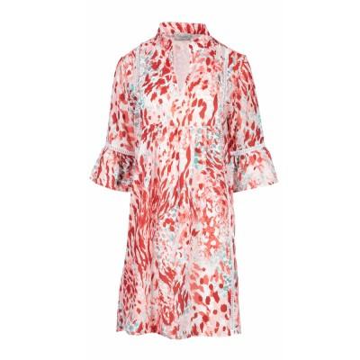 Pink Label Γυναικείο Beachwear - Homewear Red Leopard