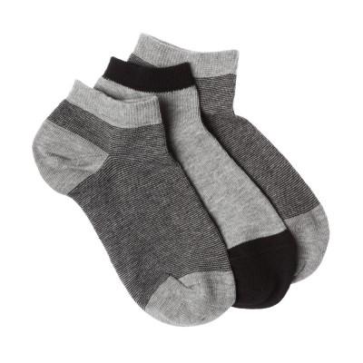 Me We Socks Παιδικό Βαμβακερό Sneaker με Ρίγα (3 Ζεύγη)
