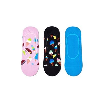 Happy Socks - 3-Pack Ice Cream Liner Socks