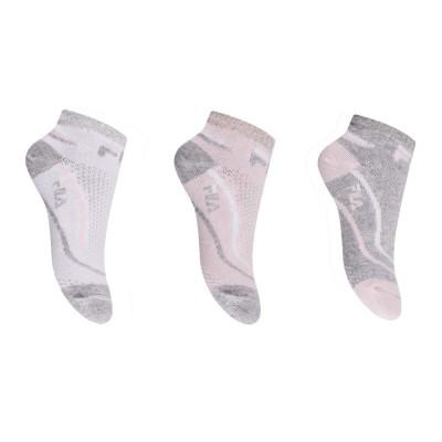FILA Socks - Παιδική Κάλτσα Σοσόνι - Σετ με 3 Ζεύγη