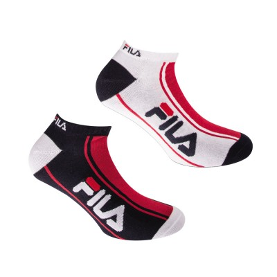 FILA Socks - Unisex Aθλητική Κάλτσα Σοσόνι - Σετ με 2 Ζεύγη