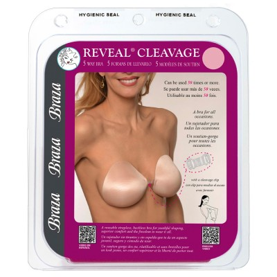 Braza - Reveal Cleavage - Αυτοκόλλητο Ρυθμιζόμενο Σουτιέν Support Cups