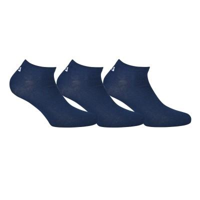 FILA UNI NOS Socks - Unisex Aθλητική Κάλτσα Σοσόνι - Σετ με 3 Ζεύγη