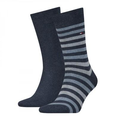 Tommy Hilfiger - TH Men Duo Stripe Sock 2P - Σετ 2 Ζεύγη