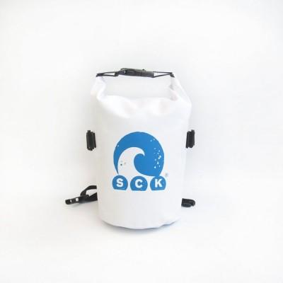 SCK Αδιάβροχος σάκος με ιμάντα μέσης 3L Λευκό