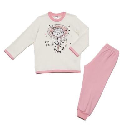 Minerva - Βρεφική Χειμερινή Πυτζάμα Για Κορίτσι Little Fashionist