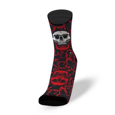 Lithe - Black Fluid - Crossfit Socks