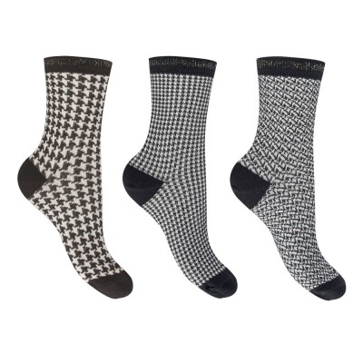 FILA Socks - Γυναικεία Κάλτσα Warm Cotton Ημίκοντη Σετ 3 Τεμαχίων