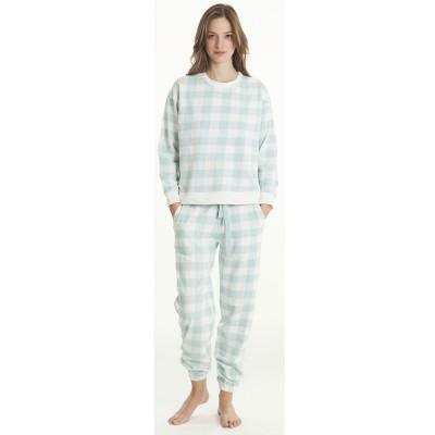 Love Homewear Γυναικεία Πυτζάμα ΜΜ-ΜΠ ΣΦΙΚΤ. VICHY