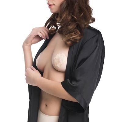 Julimex - Satin Nipples Covers μιας Χρήσης - Flowers 4 Ζευγάρια